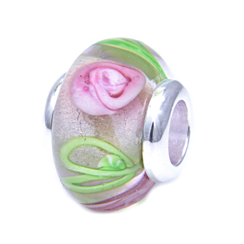 Charmlinks Glass Bead Lilium - Exclusive Bead Store