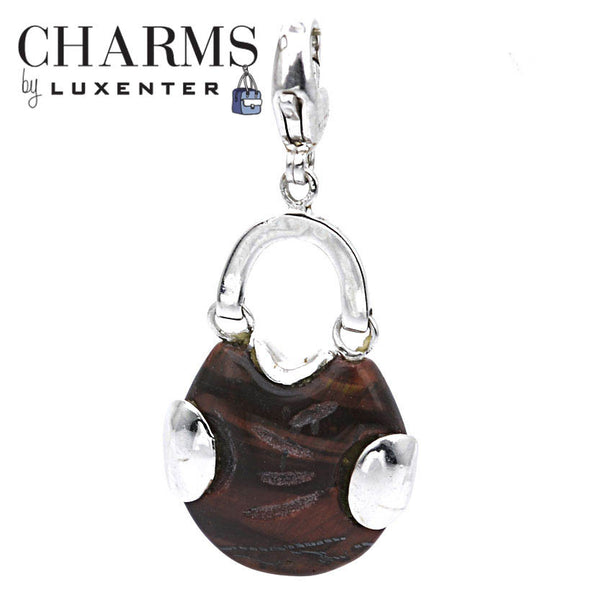 Luxenter Tigers Eye Handbag Charm