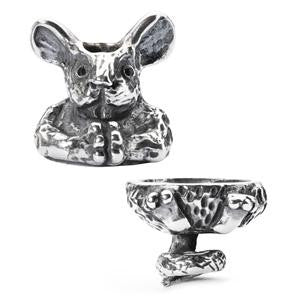 Trollbeads Fantasy Mouse retired