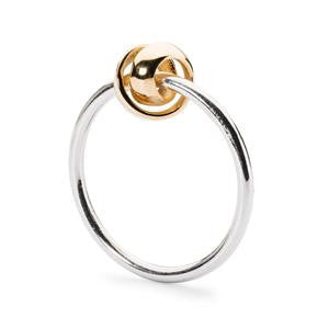 Trollbeads Neverending Silver & Gold Ring