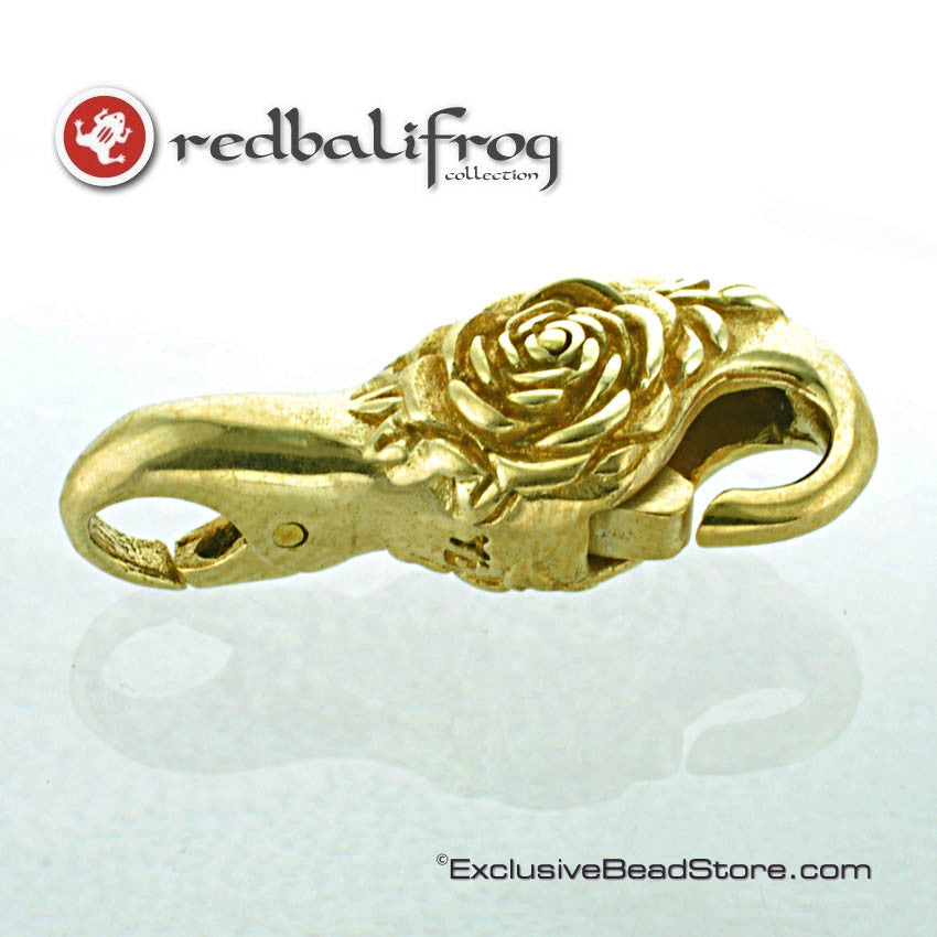 Redbalifrog Brass Rose Lock