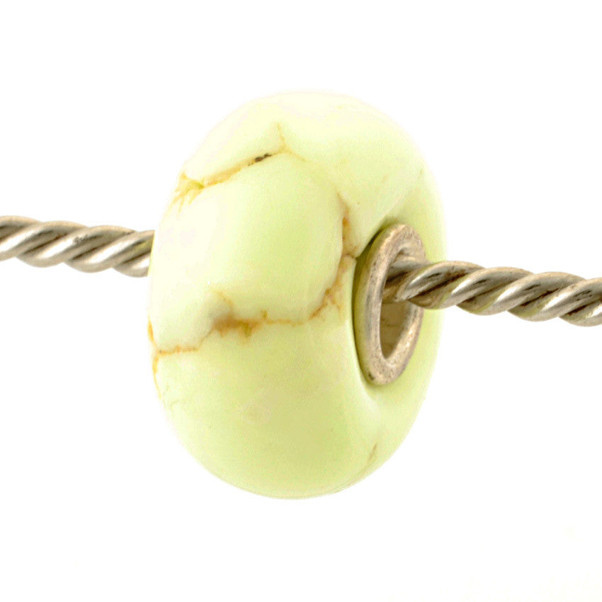Exclusive Lemon Magnasite Bead