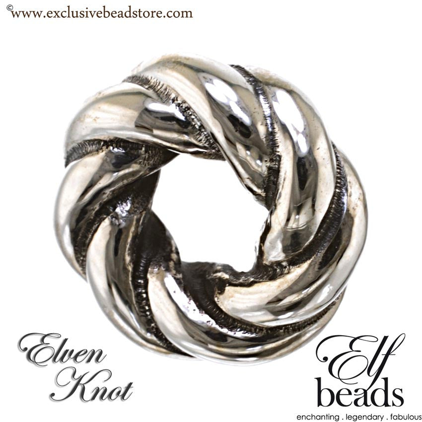 Elfbeads Silver Elven Knot Bead