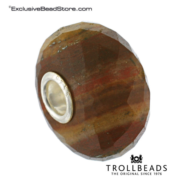 Trollbeads 80119 Brown/Yellow Chalcedony