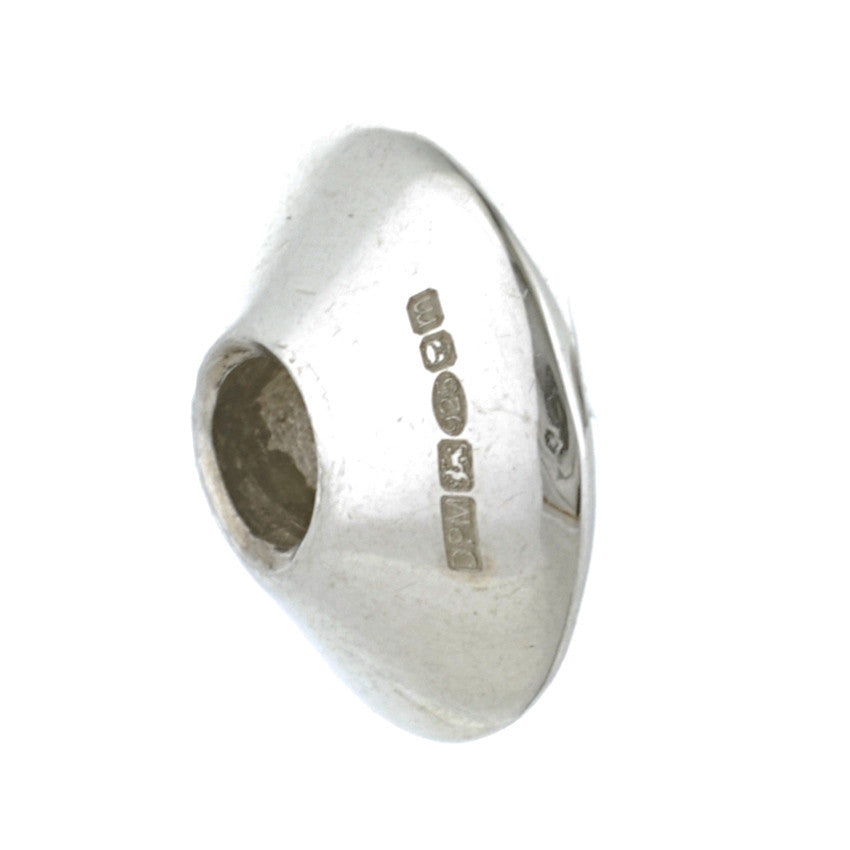 Exclusive Silver Medium Cone Bead