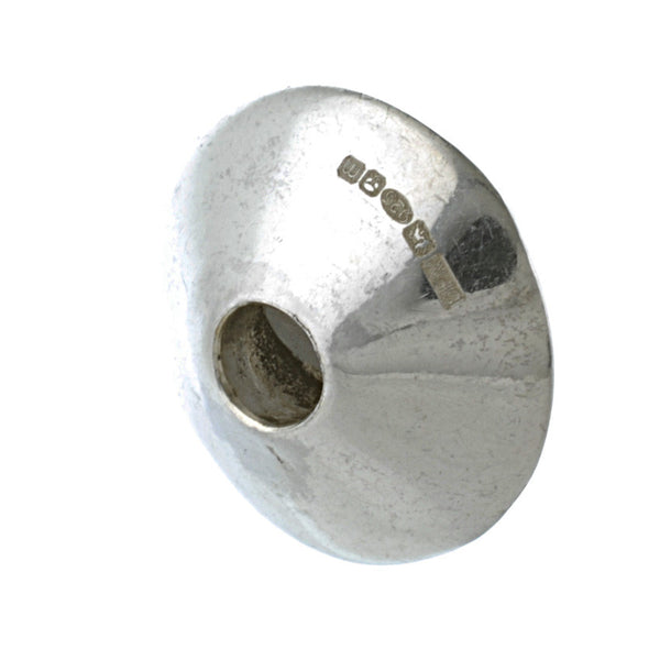 Exclusive Silver Large Cone Bead