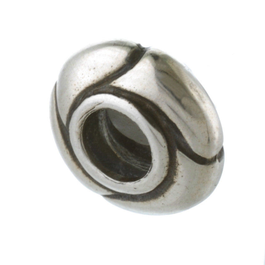 Exclusive Silver Small Armadillo Bead