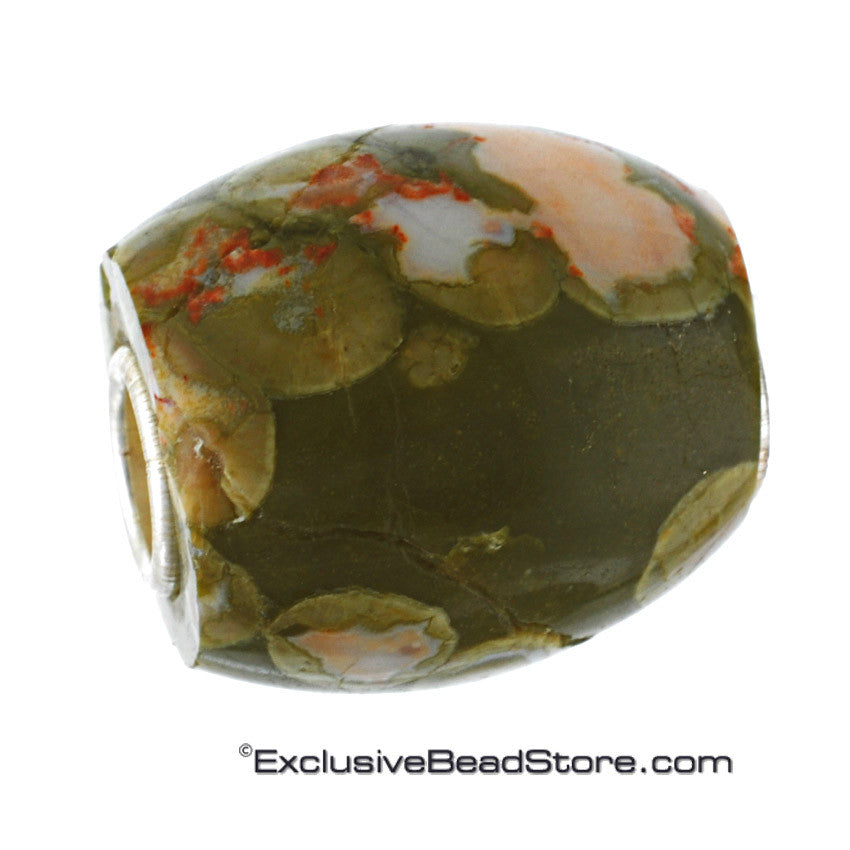 Exclusive Rhyolite Stone Bead