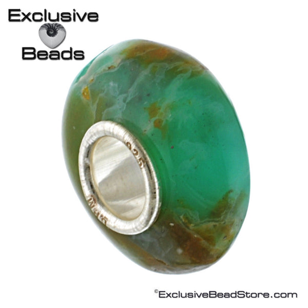 Exclusive Peruvian Chrysopal Bead