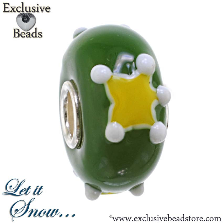 Exclusive Christmas Star Bead