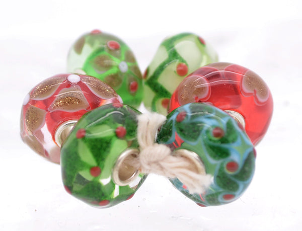 Trollbeads Holly Jolly Beads kit