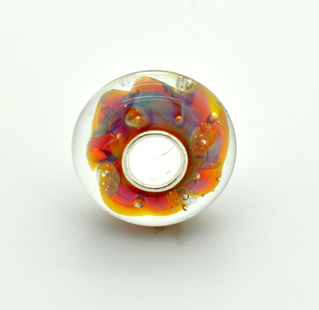 Elfbeads Halo Universe Glass Bead