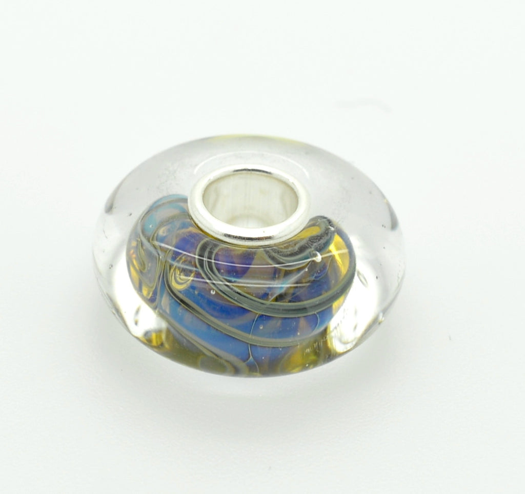Elfbeads Halo Roll Glass Bead