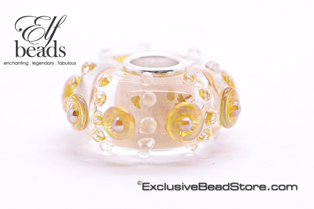 Elfbeads Gold Luster Gaudy