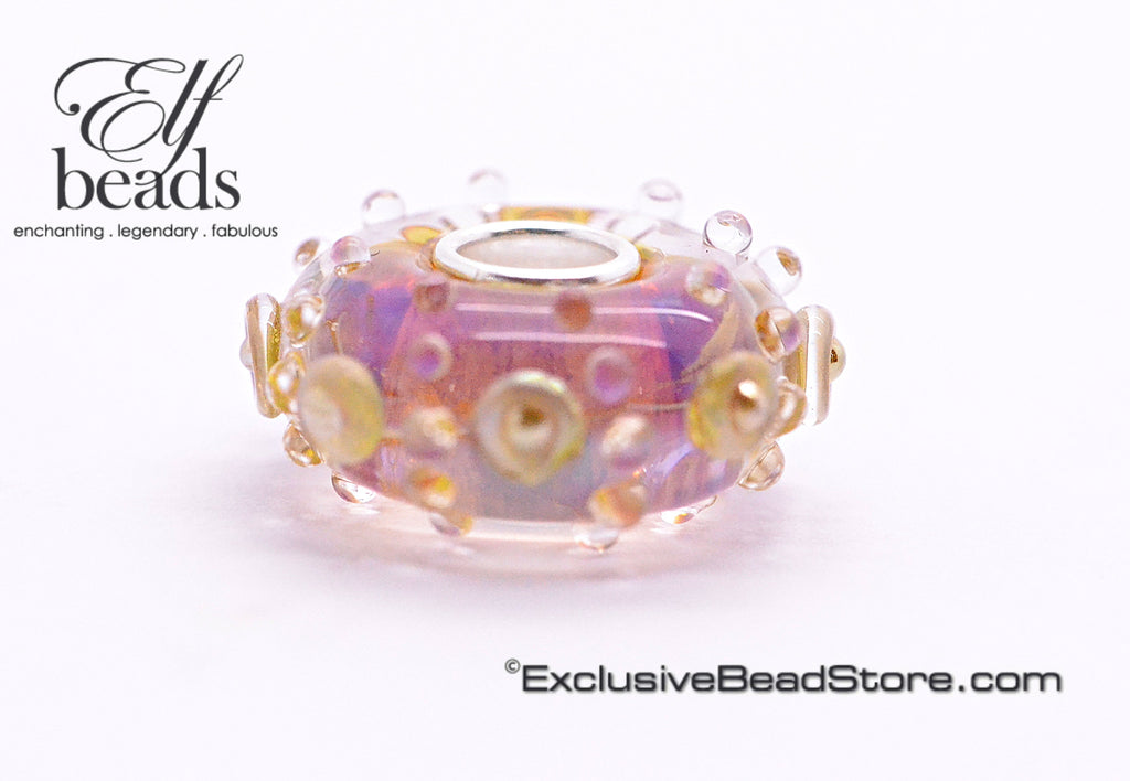Elfbeads Gold Blush Gaudy