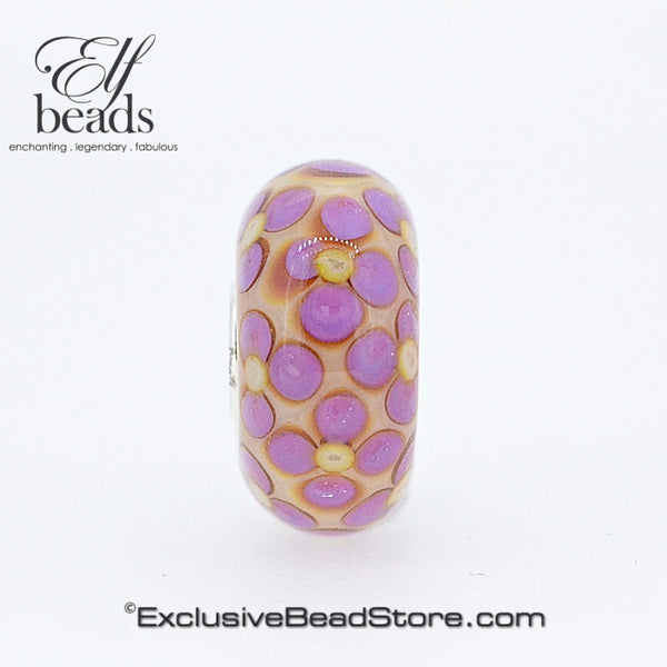 Elfbeads Cotton Candy Flowerstone