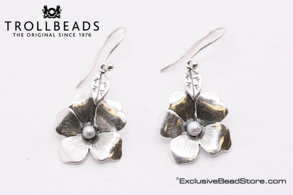 Trollbeads Flower Freedom Earrings