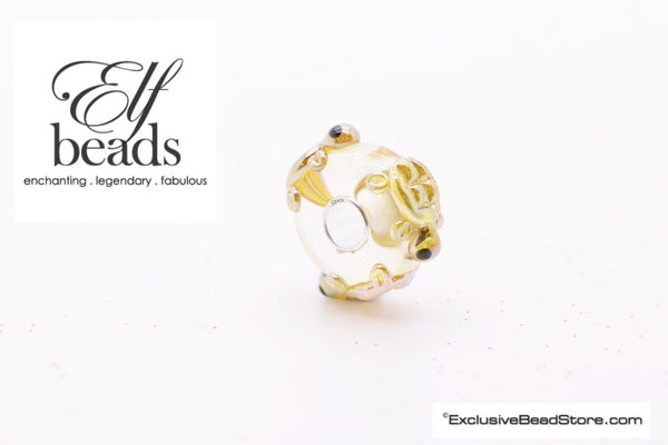 Elfbeads Gold Turtles