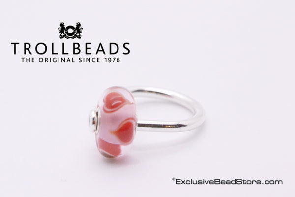 Trollbeads Heart bloom ring