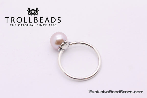 Trollbeads Rosa Pearl Ring