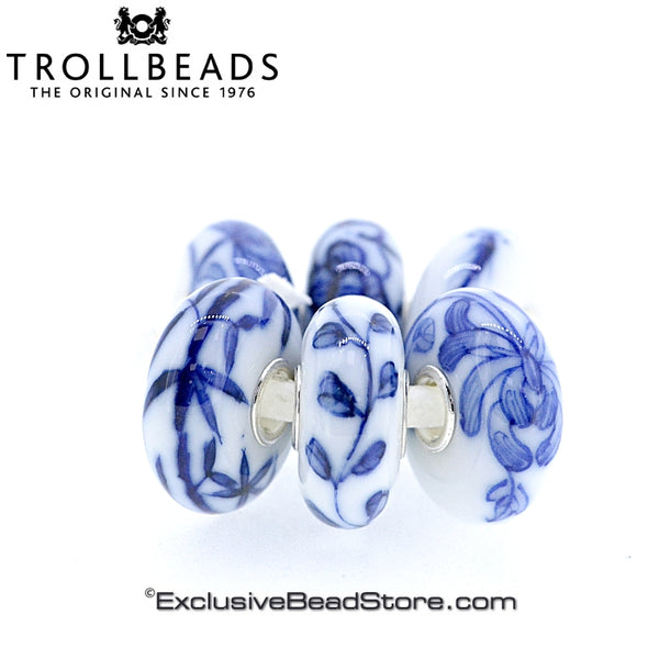 Trollbeads Brush of Blue Kit