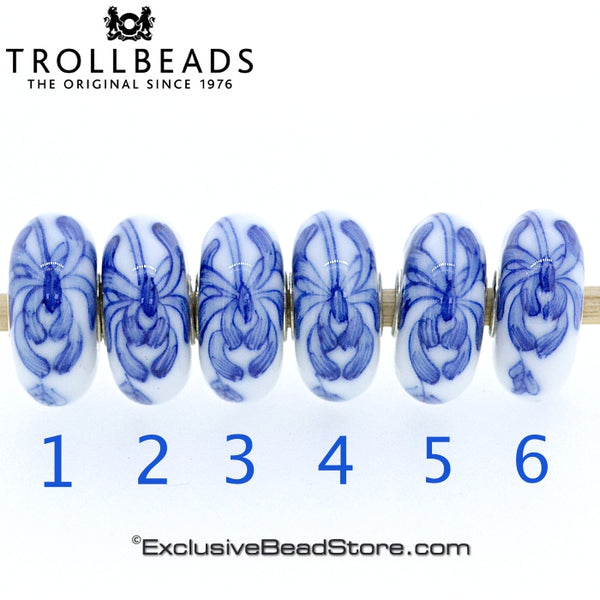 Trollbeads Chrysanthemum Brush Limited Edition
