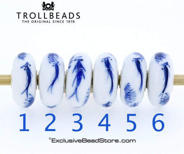 Trollbeads Fish Brush Limited Edition