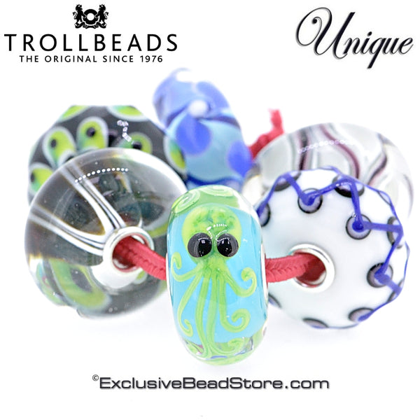 Trollbeads Jumbo Unique Kit Spring Release 2018 with Octopus