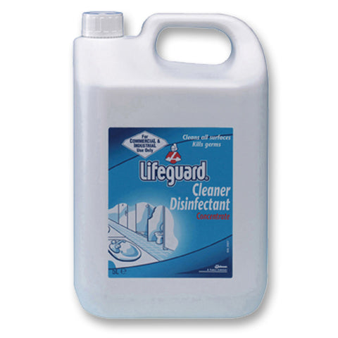 Lifeguard Cleaner Disinfectant - 5 litre Concentrate