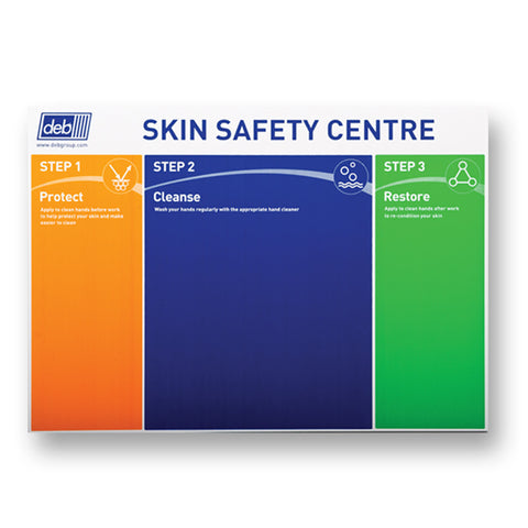 Deb 3-Step Skin Protection Board