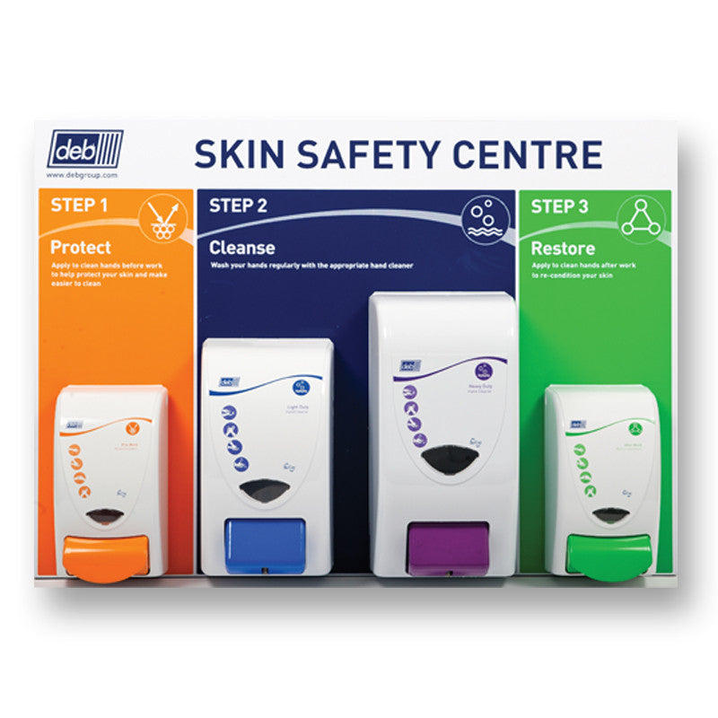 Deb 3-Step Skin Safety Centre - Large
