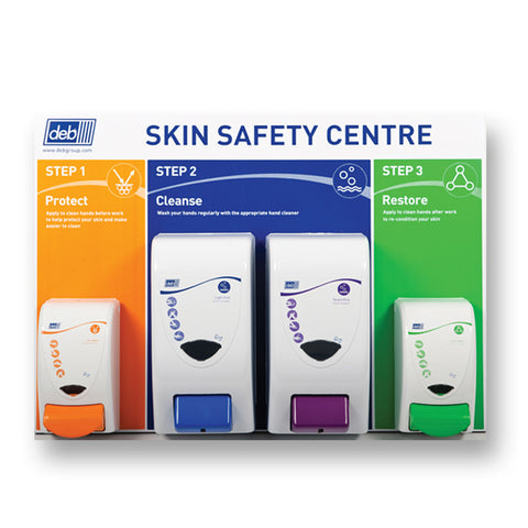 Deb 3-Step Skin Safety Centre - Large 4 plus