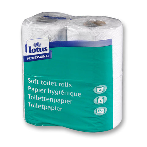 Tork Toilet Roll Conventional - 200 Sheets