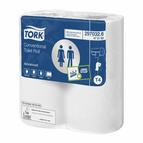 Tork Toilet Roll Conventional 320 Sheets