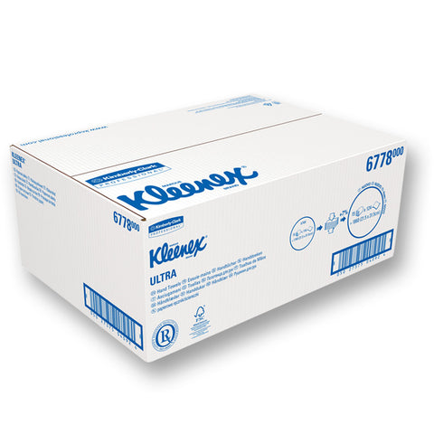 Kleenex Ultra Hand Towels - Folded