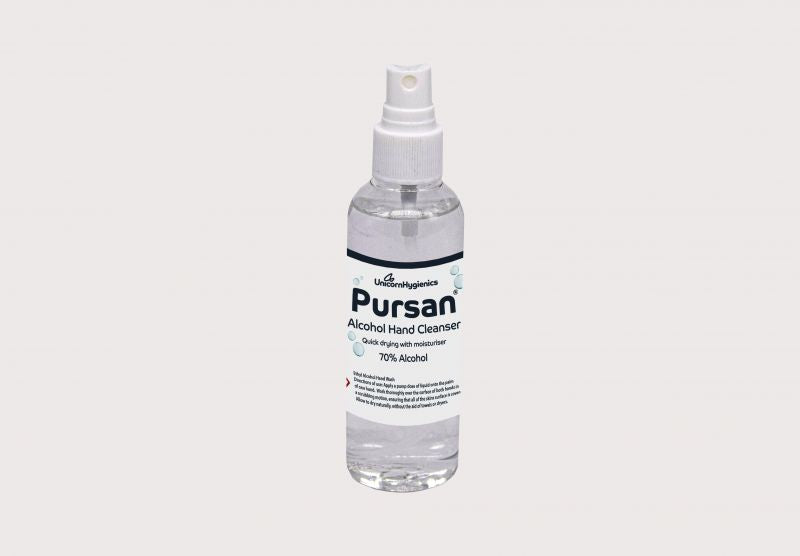 Pursan Alcohol Hand Cleanser 100ml x 24