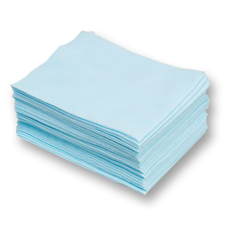 DuPont Sontara Turquoise Apertured 1/4 Fold Cloth