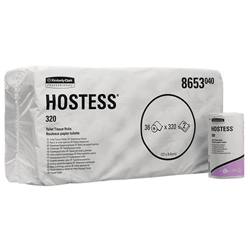 Hostess* 320 Toilet Tissue Rolls
