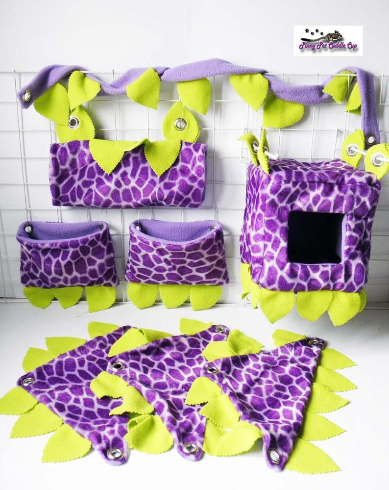 Sugar Glider and Small Pets Jungle Cage Set