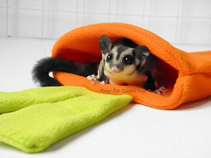 Sugar Glider and Small Pets Carrot Pouch