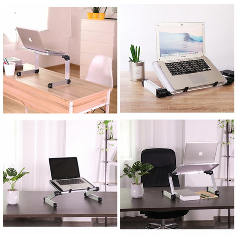 Multifunctional use of FactCare™ Adjustable Laptop Stand
