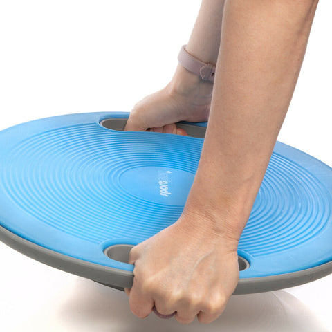 Balance board with built in handles