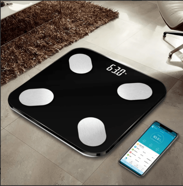 Bluetooth Body Fat Scale Laying on the Floor