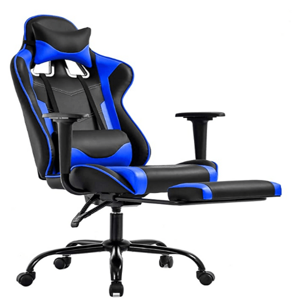 FactDesign High Back Gaming Chair with Footrest - Quizel Store