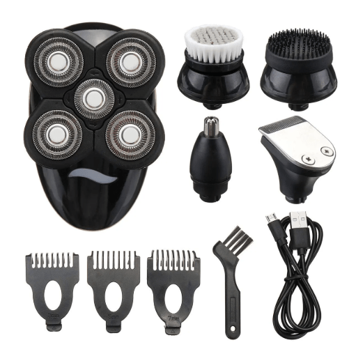 FactCare 5 in 1 Rechargeable Cordless Bald Head Clipper Shaver - Quizel Store