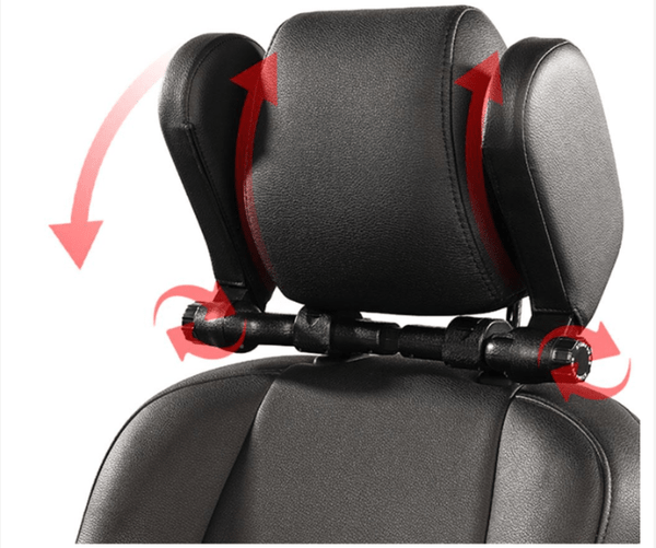 FactCare™ Adjustable Car Seat Headrest Travel Neck Pillow Support the width and height is adjustable