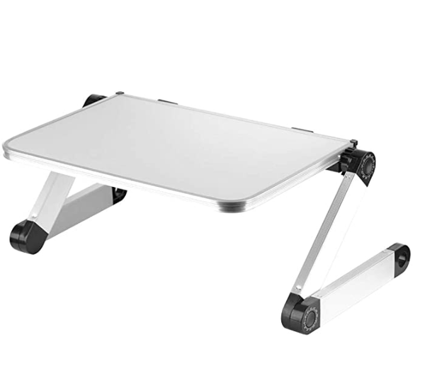 FactCare Adjustable Laptop Stand White - Quizel Store