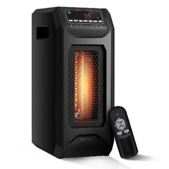 FactCare Portable Electric Space Heater with Timer Remote Control  - Quizel Store
