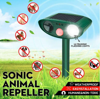 PESTX™ Squirrel and Animal UltraSonic Solar Powered Pest Repellent - Quizel Store