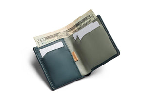 Bellroy Note Sleeve-teal eucalyptus